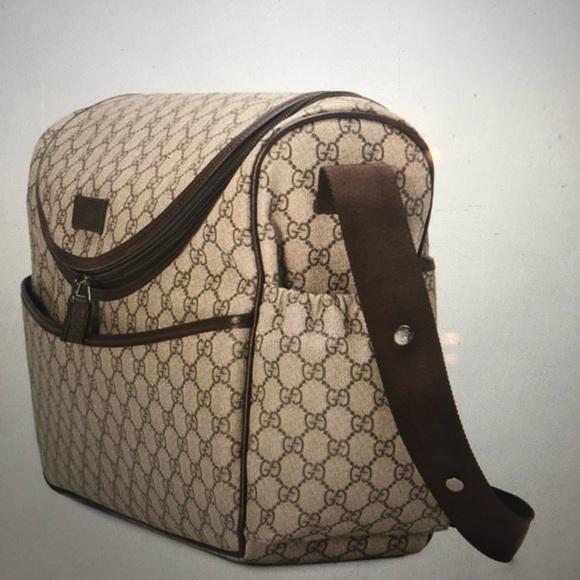 36d1194b1023 Gucci Bags | Gg Supreme Diaper Bag | Poshmark